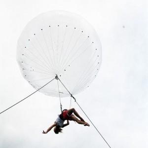 bulle,aerien,accrobate