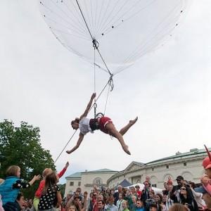 danse aérienne, cirque contemporain