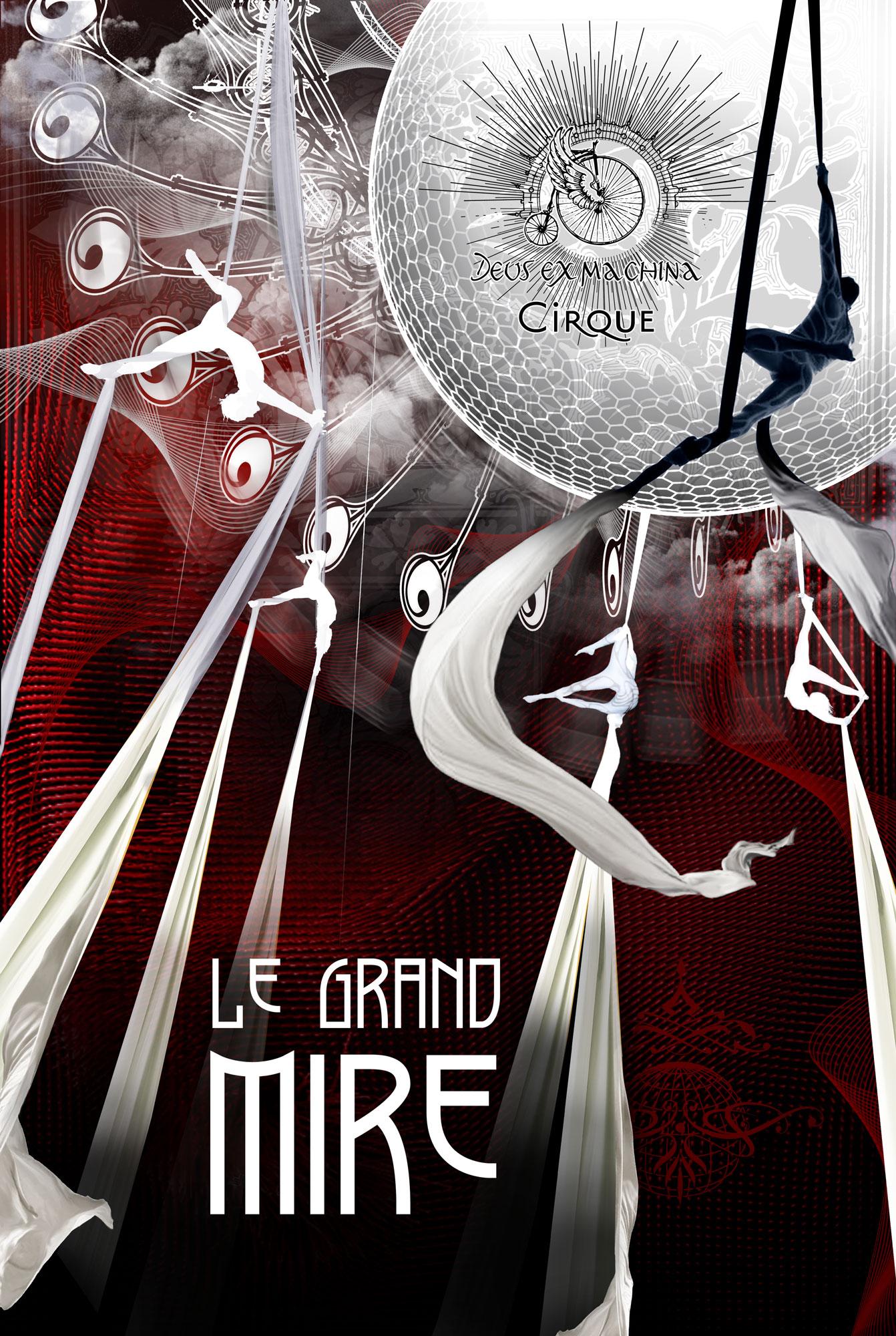 Through the Looking-Glass | Compagnie Deus ex machina cirque