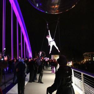 Inauguration pont