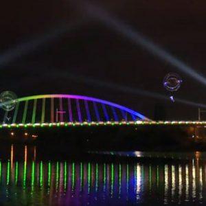 Inauguration de pont